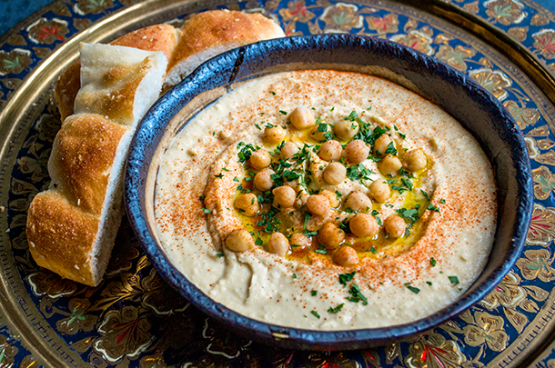 The best basic hummus recipe by Jamie Oliver