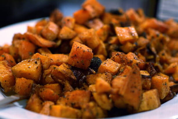 Fajita Sweet Potatoes