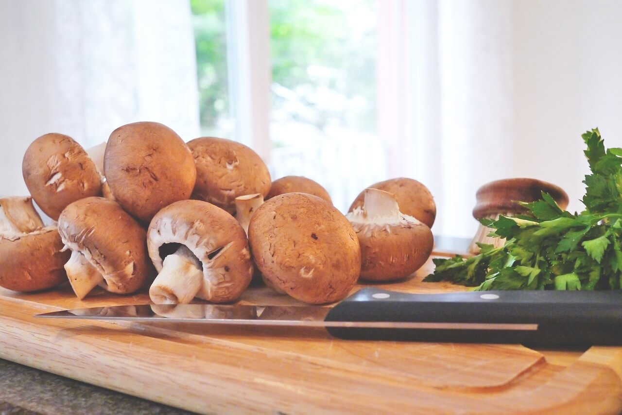 30 recipes with mushrooms under 350 kcal