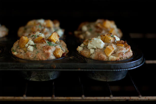 Pumpkin and Feta Muffins Recipe
