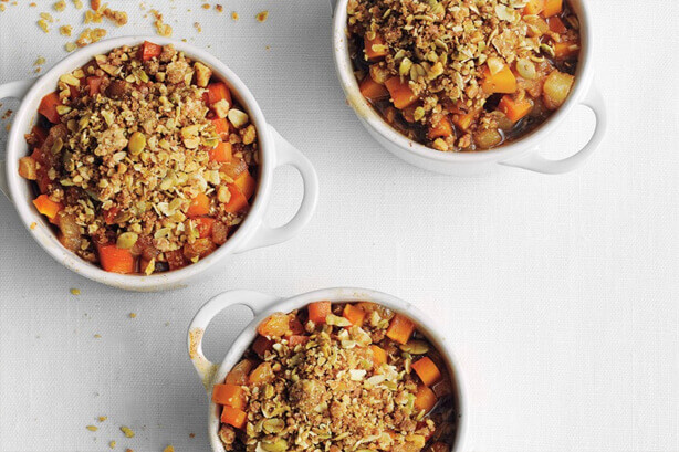 Pumpkin-Pear Crisps