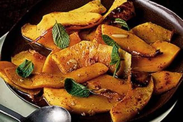 Sicilian spicy pumpkin