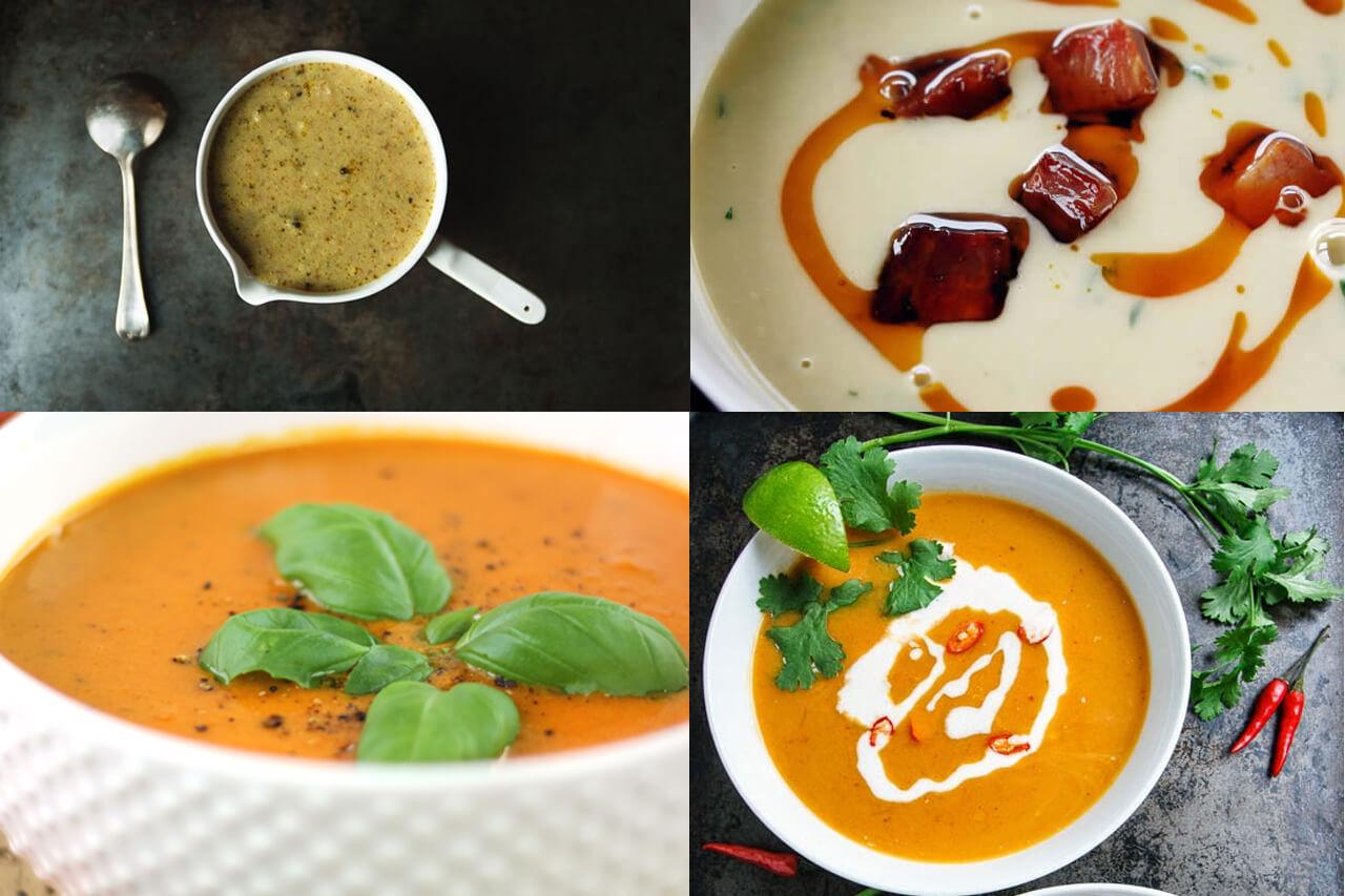 20 Super tasty & healthy soup recipes
